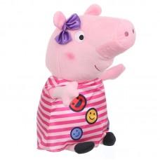 Peppa malac plüss - csíkos ruhás