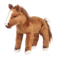 Sergo - barna plüss ló