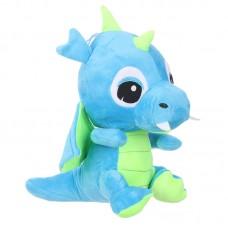 Zafír - kék plüss sárkány