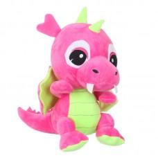 Zafír - rózsaszín plüss sárkány