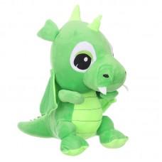 Zafír - zöld plüss sárkány