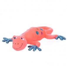 Crouton - rózsaszín plüss gekko