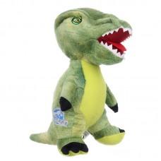 Zöld t-rex - Jurassic World plüss dínó