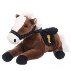 Grant - sötétbarna plüss ló