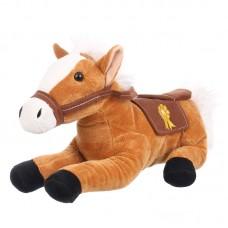 Grant - világosbarna plüss ló