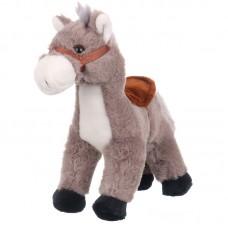 Damian - szürke plüss ló