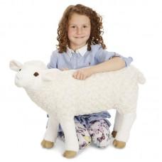 Betyár - nagy méretű plüss bárány