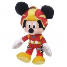 Mickey egér - Mickey és az autóversenyzők plüss