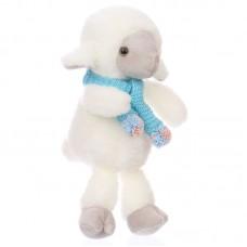 Ervin - plüss bárány kék sállal