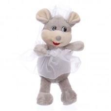 Cini - plüss menyasszony kisegér