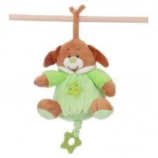 Zenélő baby plüss - kutya