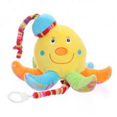 Zenélő baby plüss - polip