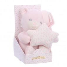Baby plüss maci - rózsaszín