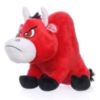 Edward - plüss piros bika