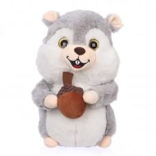 Treff - plüss szürke mókus