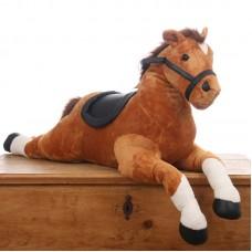 Lorenzo - óriás méretű plüss ló  108cm