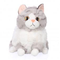 Cliff - szürke plüss cica