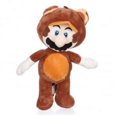 Tanooki Mario - Super Mario plüss figura