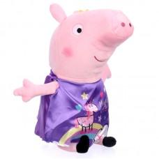 Peppa malac plüss - lila ruhás