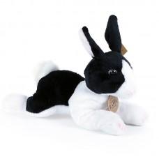 Shazy - fekete-fehér plüss nyuszi