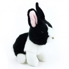Debby - fekete-fehér plüss nyuszi
