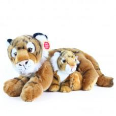 Georg és Gino - plüss tigris mama kölykével