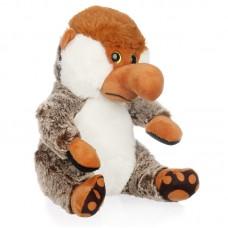 Cedric - borneói nagyorrú plüss majom barna