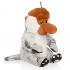 Cedric - borneoi nagyorrú plüss majom szürke