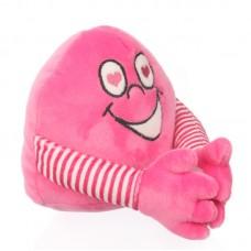 Kacagó plüss labda - rózsaszín