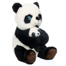Patrícia és Luca - panda mama gyermekével plüss
