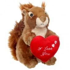 Cibóka a szerelmes - plüss mókus