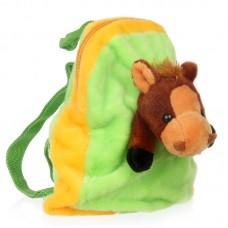 Lovacskás hátizsák - zöld