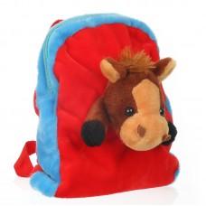 Lovacskás hátizsák - piros