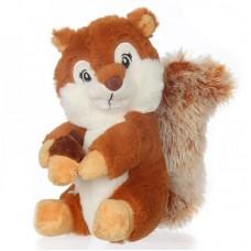 Toby - barna plüss mókus