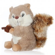 Toby - bézs plüss mókus