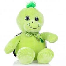 Tekla - zöld plüss teknős