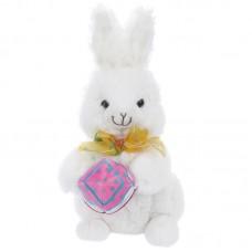 Bunny - fehér plüss nyúl