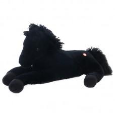 Puerto - fekete plüss ló