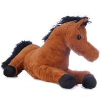 Franco - barna plüss ló