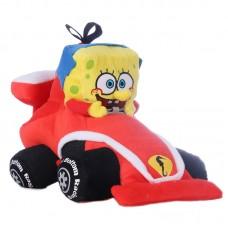 SpongyaBob plüss figura - Autóversenyző