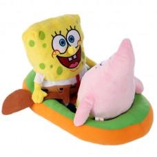 SpongyaBob plüss figura - Csónakázós