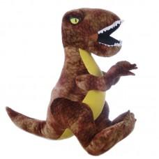 T-rex plüss figura - barna