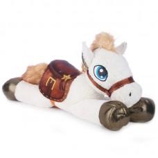 Tacito - fehér plüss ló