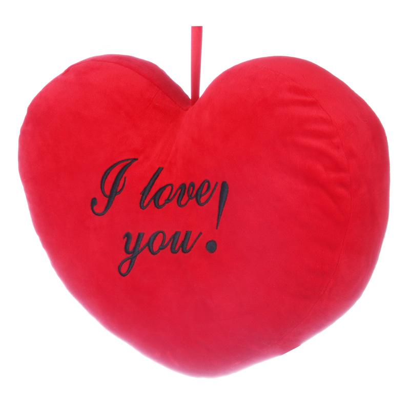 Szív alakú díszpárna
