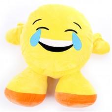 Plüss emoji párna - sírva nevető