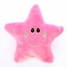 Csillag alakú párna - rózsaszín