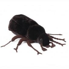 Drago - sötétbarna plüss szarvasbogár