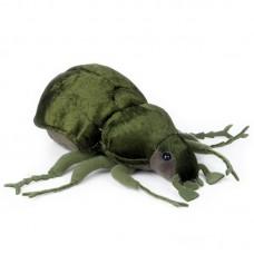 Drago - zöld plüss szarvasbogár