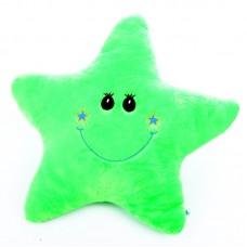 Csillag alakú párna - zöld