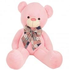 Vincenzo - óriás plüss maci rózsaszín 135cm